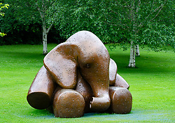 Mortonhall Baby Memorial sculpture, Princes street Gardens, Edinburgh, Scotland, UK