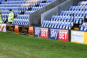 Sky Bet adert during the EFL Sky Bet League 1 match between Shrewsbury Town and Plymouth Argyle at Greenhous Meadow, Shrewsbury, England on 10 February 2018. Picture by Mick Haynes.