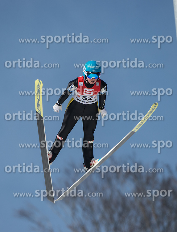 07.02.2016, Energie AG Skisprung Arena, Hinzenbach, AUT, FIS Weltcup Ski Sprung, Hinzenbach, Damen, Qualifikation, im Bild Jacqueline Seifriedsberger (AUT) // during Ladies Skijumping Qualification of FIS Skijumping World Cup at the Energie AG Skisprung Arena, Hinzenbach, Austria on 2016/02/07. EXPA Pictures © 2016, PhotoCredit: EXPA/ Reinhard Eisenbauer