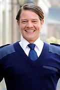 Setbezoek van het  tweede seizoen Dokter Tinus waar de opnamen in Woudrichem plaats vinden.<br /> <br /> Op de foto:  Tygo Gernandt