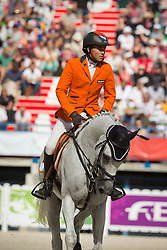 Tim Lips, (NED), Keyflow NOP - Eventing jumping - Alltech FEI World Equestrian Games™ 2014 - Normandy, France.<br /> © Hippo Foto Team - Dirk Caremans<br /> 31/08/14