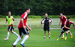 Bristol City's head coach, Sean O'Driscoll watches the training session - Photo mandatory by-line: Dougie Allward/JMP - Tel: Mobile: 07966 386802 28/06/2013 - SPORT - FOOTBALL - Bristol -  Bristol City - Pre Season Training - Npower League One
