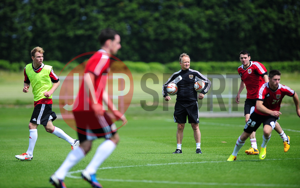 Bristol City's head coach, Sean O'Driscoll watches the training session - Photo mandatory by-line: Dougie Allward/JMP - Tel: Mobile: 07966 386802 28/06/2013 - SPORT - FOOTBALL - Bristol -  Bristol City - Pre Season Training - Npower League One