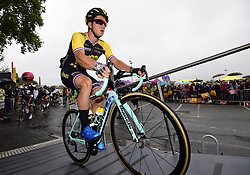 July 13, 2017 - Pau, France - Peyragudes, France - July 13 : GROENEWEGEN Dylan of Team LottoNL-Jumbo during stage 12 of the 104th edition of the 2017 Tour de France cycling race, a stage of 214.5 kms between Pau and Peyragudes on July 13, 2017 in Peyragudes, France, 13/07/2017 (Credit Image: © Panoramic via ZUMA Press)