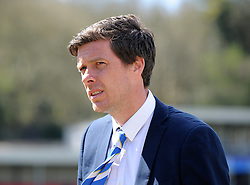 Bristol Rovers Manager, Darrell Clarke - Photo mandatory by-line: Neil Brookman/JMP - Mobile: 07966 386802 - 18/04/2015 - SPORT - Football - Dover - Crabble Athletic Ground - Dover Athletic v Bristol Rovers - Vanarama Football Conference
