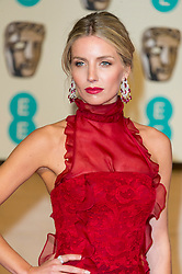 © Licensed to London News Pictures. 14/02/2016. London, UK.  ANNABELLE WALLIS arrives on the carpet for the EE British Academy Film Awards 2016 after party held at Grosvenor House . London, UK. Photo credit: Ray Tang/LNPPhoto credit: Ray Tang/LNP