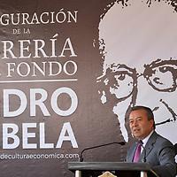 Metepec, México (Noviembre 08, 2018).- El ex gobernador mexiquense César Camacho Quiroz durante la apertura de la tercera librería del Fondo de Cultura Económica en el Estado de México que fue formalmente inaugurada en Metepec, ubicada a un costado del Teatro Quimera.  Agencia MVT / Crisanta Espinosa.