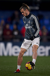 January 3, 2019 - Villarreal, Castellon, Spain - Gareth Bale of Real Madrid during the warm-up before the week 17 of La Liga match between Villarreal CF and Real Madrid at Ceramica Stadium in Villarreal, Spain on January 3 2019. (Credit Image: © Jose Breton/NurPhoto via ZUMA Press)