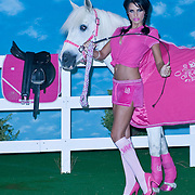 London Sep 3rd  Katie Prices adds a touch of glamour to the Equestrian world with theb launch of KP Equestrian