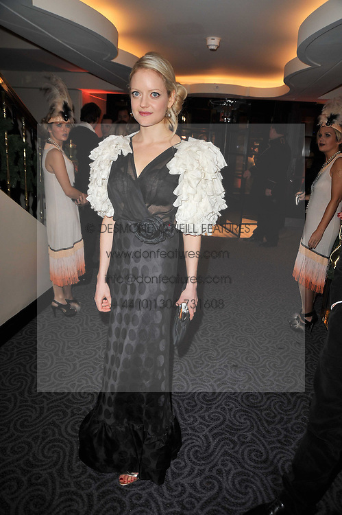 LADY ELOISE ANSON at Quintessentially's 10th birthday party held at The Savoy Hotel, London on 13th December 2010.