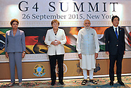 Indian PM Modi - G-4 Summit, USA Visit