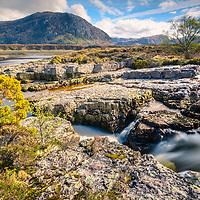 Lochan Havurn and Strath Beag, Sutherland.