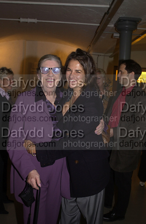 Sarah Emin ( mother)  and Tracey Emin. <br />