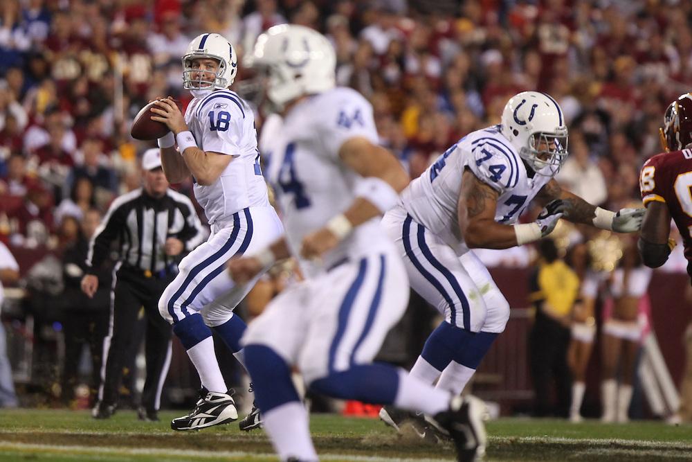 Washington., Oct. 17, 2010 -Redskins vs. Colts  -  (Photo by Jay Westcott/TBD)
