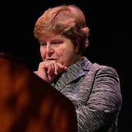 Sept. 12, 2012 - Hempstead, New York, U.S. - CHRISTINA ROMER, Former Chairperson of the Council of Economics Advisors for President Barack Obama, speaks at Hofstra University on: What's at Stake? Economic Issues in the 2012 Presidential Election. This lecture is part of Debate 2012 Pride Politics and Policy, a series of events leading up to when Hofstra hosts the 2nd Presidential Debate between Pres. Barack Obama and Mitt Romney, on October 16, 2012, in a Town Meeting format.
