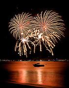 Lake Tahoe fireworks 2008