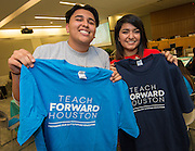 Teach Forward Houston signing ceremony, May 3, 2016.