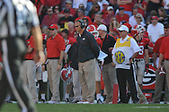 Ole Miss vs. Georgia Coach Mark Richt at Sanford Stadium in Athens, Ga. on Saturday, November 3, 2012.