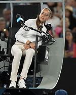 Feature Australian Open,Stuhlschiedsrichterin Marijana Veljovic (SRB<br /> <br /> Tennis - Australian Open 2018 - Grand Slam / ATP / WTA -  Melbourne  Park - Melbourne - Victoria - Australia  - 27 January 2018.