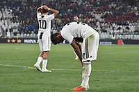 Dejection of Mario Mandzukic and Paulo Dybala of Juventus  during the Serie A 2018/2019 football match between Juventus and Genoa CFC at Allianz Stadium, Turin, October, 20, 2018 <br />  Foto Andrea Staccioli / Insidefoto