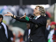 Sporting's head coach Jorge Jesus reacts during  Portuguese First League football match Nacional vs Sporting held at Madeira Stadium, Funchal, Portugal, 13 February, 2016.  LUSA / GREGÓRIO CUNHA