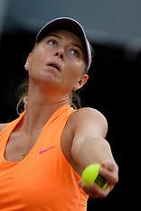 Maria Sharapova v Eugenie Bouchard - 8 May 2017