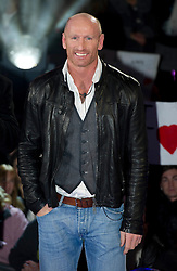 Contestants Gareth Thomas at the launch of  Celebrity Big Brother 2012 in London , Thursday 5th January 2012. Photo by: i-Images