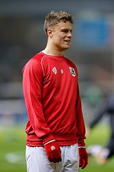 Matt Smith of Bristol City (newly signed on loan from Fulham) looks on before the match - Photo mandatory by-line: Rogan Thomson/JMP - 07966 386802 - 28/11/2014 - SPORT - FOOTBALL - Peterborough, England - ABAX Stadium - Peterborough United v Bristol City - Sky Bet League 1.