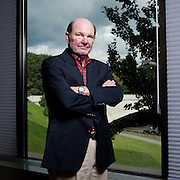 Joe Sanderson, chief executive officer and chairman of the board of Sanderson Farms, poses for a portrait in Washington, DC on October 4 2011.