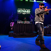 WASHINGTON, DC - January 22nd, 2013 - Long Island rapper Roc Marciano (right) performs with DJ Alejandro at the Howard Theater in Washington, D.C.  His sophomore album, Reloaded, was released to widespread acclaim in November 2012. (Photo by Kyle Gustafson/For The Washington Post)