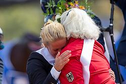 Heuitink Joyce, NED,<br /> Tryon - FEI World Equestrian Games™ 2018<br /> Siegerehrung Medaillenvergabe<br /> Para-Dressur Teamentscheidung<br /> 21. September 2018<br /> © www.sportfotos-lafrentz.de/Sharon Vandeput