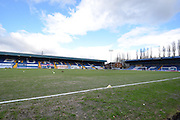 Clear skies above the JD Stadium before the Sky Bet League 1 match between Bury and Bradford City at the JD Stadium, Bury, England on 5 March 2016. Photo by Mark Pollitt.