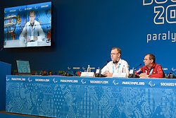 IPC Reaction To Ukraine Conference at the 2014 Sochi Winter Paralympic Games, Russia