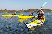 Surf kayaking, kayakers, kayak & kayaker