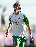 20090425: The Portuguese League is home to a growing number of African, Brazilian and Argentinean promising young players. ***FILE PHOTO*** 20081116: FUNCHAL, PORTUGAL - Nacional da Madeira vs Rio Ave: Portuguese League 2008/2009, 8th round. In picture: Miguel Lopes (Rio Ave). PHOTO: Octavio Passos/CITYFILES