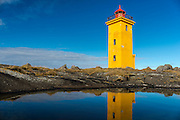 Stafnesviti lighthouse at Sandgerdi, Iceland