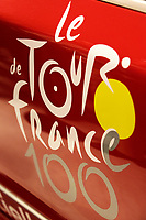 CYCLING - PRESENTATION TOUR DE FRANCE 2013 - PARIS (FRA) - 24/10/2011 - PHOTO JULIEN BIEHLER / DPPI - Logo Illustration - The 100th edition - Centenaire