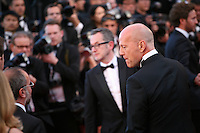Actor Bruce Willis at the gala screening of the film Moonrise Kingdom at the Cannes Film Festival. Wednesday 16th May 2012, the red carpet at Palais Des Festivals in Cannes, France.