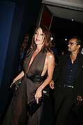 Tamara Mellon, Emporio Armani Red One Night Only. Brompton Hall, Earls Court. London. 21 September 2006.  . ONE TIME USE ONLY - DO NOT ARCHIVE  © Copyright Photograph by Dafydd Jones 66 Stockwell Park Rd. London SW9 0DA Tel 020 7733 0108 www.dafjones.com
