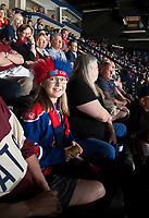 REGINA, SK - MAY 20: Fans at the Brandt Centre on May 20, 2018 in Regina, Canada. (Photo by Marissa Baecker/CHL Images)