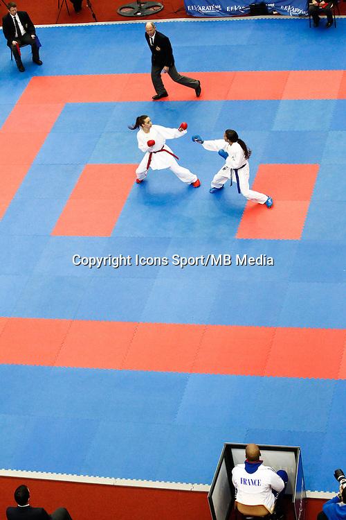 Illustration Karate - 24.01.2015 - Open de Paris - Karate Premier League -<br />Photo : Johnny Fidelin / Icon Sport