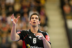 20.01.2011, Kristianstad Arena, SWE, IHF Handball Weltmeisterschaft 2011, Herren, Deutschland vs Tunesien, im Bild, // Tyskland Germany 6 Adrian Pfahl // during the IHF 2011 World Men's Handball Championship match Germany vs Tunisia  at Kristianstad Arena, Sweden on 20/1/2011. EXPA Pictures © 2011, PhotoCredit: EXPA/ Skycam/ Henrik Johansson +++++ ATTENTION - OUT OF SWEDEN/SWE +++++