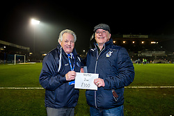 Half time draw - Rogan Thomson/JMP - 14/02/2017 - FOOTBALL - Memorial Stadium - Bristol, England - Bristol Rovers v Sheffield United - Sky Bet League One.