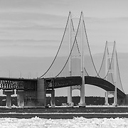 Mackinac Bridge Void Of Color