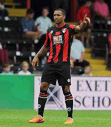 Bournemouth's Callum Wilson - Photo mandatory by-line: Harry Trump/JMP - Mobile: 07966 386802 - 18/07/15 - SPORT - FOOTBALL - Pre Season Fixture - Exeter City v Bournemouth - St James Park, Exeter, England.