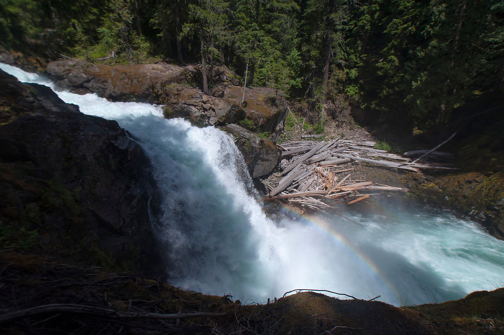 Madcap Falls, Mt. Rainier National Park, Washington, US