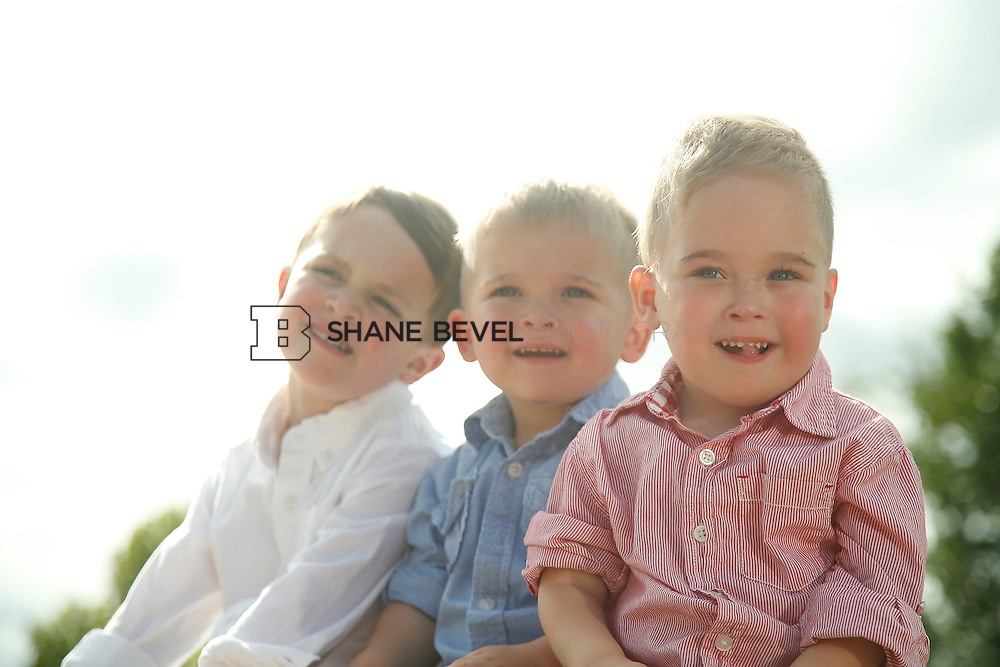 5/28/15 5:39:33 PM -- Miracle Miles and his family pose for portraits and play at the QuikTrip park for the 2015 Saint Francis Health System advertising campaign. <br /> <br /> Photo by Shane Bevel