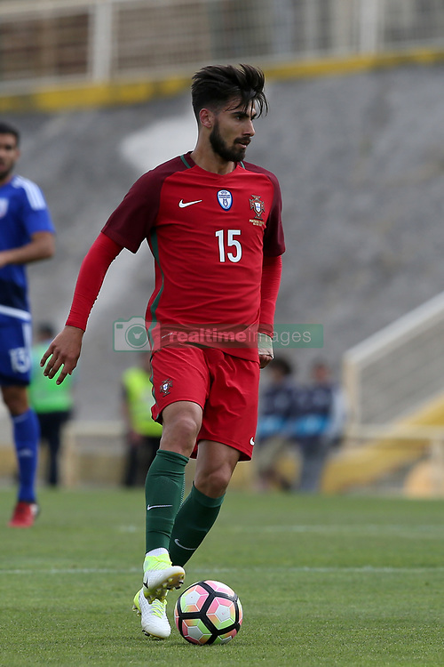 June 3, 2017 - Lisbon, Portugal - Portugal's midfielder Andre Gomes in action during the friendly football match Portugal vs Cyprus at Antonio Coimbra da Mota Stadium in Estoril, outskirts of Lisbon, Portugal on June 3, 2017. (Credit Image: © Pedro Fiuza/NurPhoto via ZUMA Press)