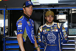 November 3, 2018 - Ft. Worth, Texas, United States of America - Chase Elliott (9) hangs out in the garage during practice for the AAA Texas 500 at Texas Motor Speedway in Ft. Worth, Texas. (Credit Image: © Justin R. Noe Asp Inc/ASP via ZUMA Wire)