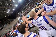 DESCRIZIONE : Torino Coppa Italia Final Eight 2012 Finale Montepaschi Siena Bennet Cantu <br /> GIOCATORE : team<br /> CATEGORIA : team<br /> SQUADRA : Bennet Cantu<br /> EVENTO : Suisse Gas Basket Coppa Italia Final Eight 2012<br /> GARA : Montepaschi Siena Bennet Cantu<br /> DATA : 19/02/2012<br /> SPORT : Pallacanestro<br /> AUTORE : Agenzia Ciamillo-Castoria/C.De Massis<br /> Galleria : Final Eight Coppa Italia 2012<br /> Fotonotizia : Torino Coppa Italia Final Eight 2012 Finale Montepaschi Siena Bennet Cantu<br /> Predefinita :
